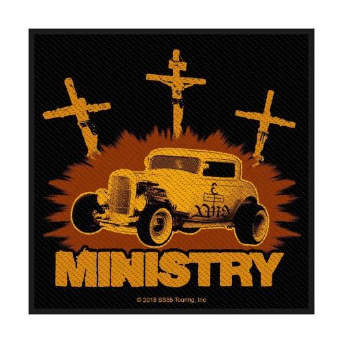 Patch Ministry Jesus Built My Hotrod
