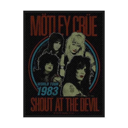 Patch Motley Crue Shout at the Devil