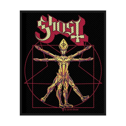 Patch Ghost The Vitruvian Ghost