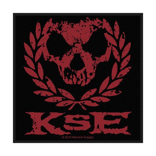 Patch Killswitch Engage Skull Wreath