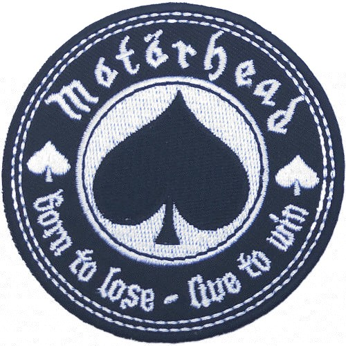 Patch Motorhead Born to Love, Live to Win
