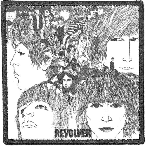 Patch The Beatles Revolver Album Cover