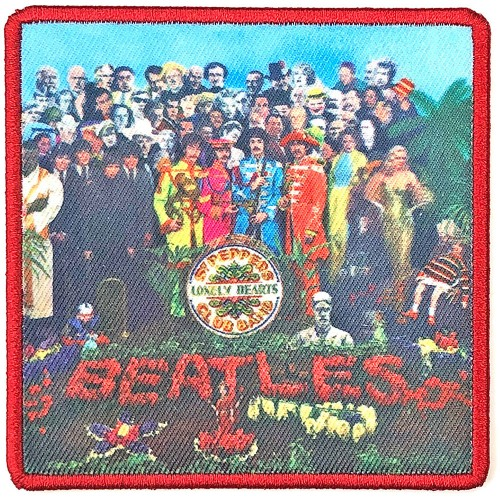 Patch The Beatles Sgt. Pepper's…. Album Cover