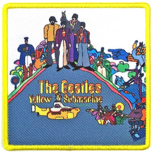 Patch The Beatles Yellow Submarine Album Cover