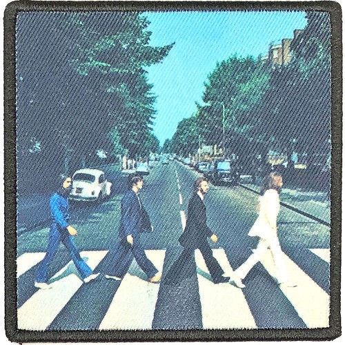 Patch The Beatles Abbey Road Album Cover