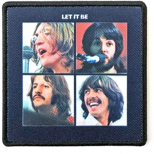 Patch The Beatles Let It Be Album Cover