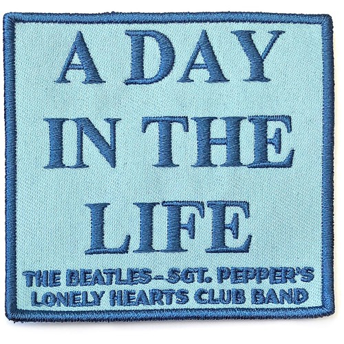 Patch The Beatles A Day In The Life