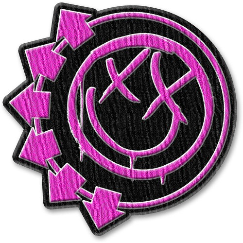 Patch Blink-182 Pink Neon Six Arrows