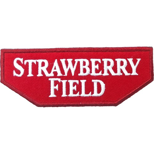 Patch Road Sign Strawberry Field