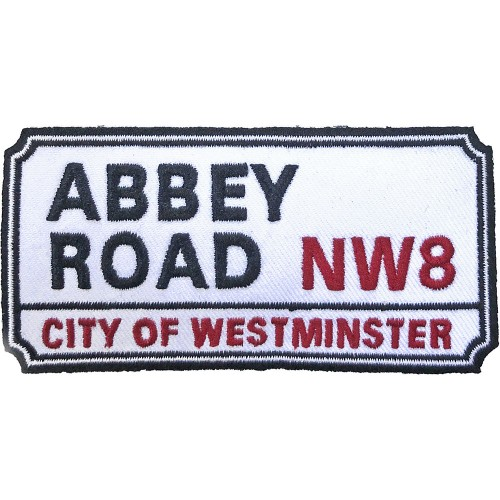 Patch Road Sign Abbey Road, NW London Sign
