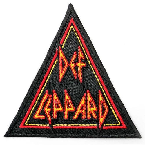 Patch Def Leppard Tri-Logo