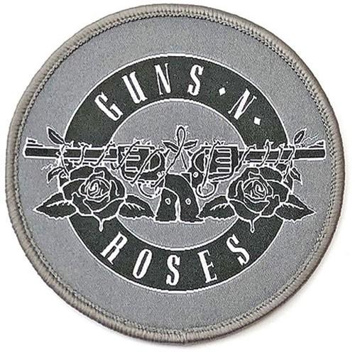 Patch Guns N' Roses White Circle Logo