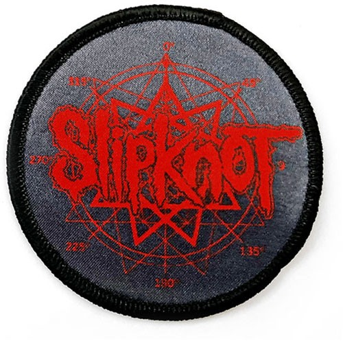 Patch Slipknot Logo & Nanogram