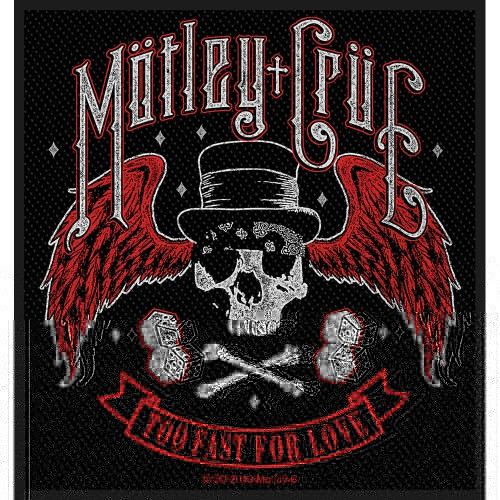 Patch Motley Crue Too Fast For Love