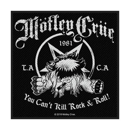 Patch Motley Crue You Can't Kill Rock n' Roll