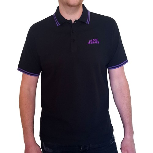 Tricou Polo Black Sabbath Wavy Logo