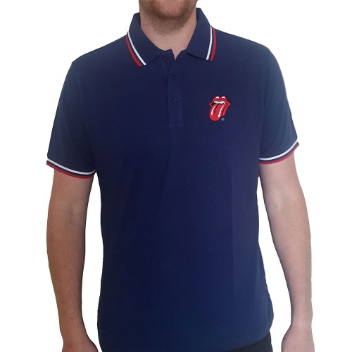 Tricou Polo The Rolling Stones Classic Tongue