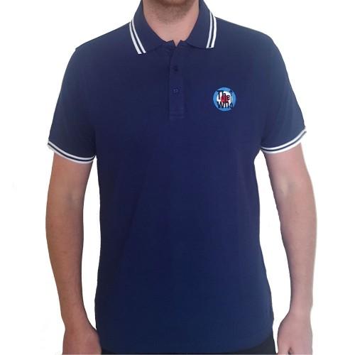 Tricou Polo The Who Target Logo