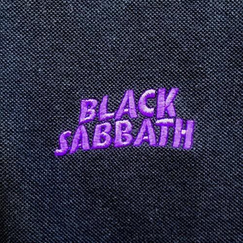 Tricou Polo Black Sabbath Wavy Logo
