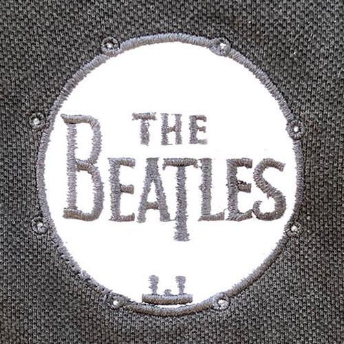 Tricou Polo The Beatles Drum Logo