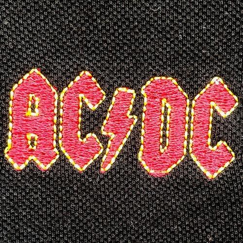 Tricou Polo AC/DC Classic Logo