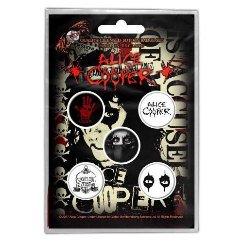 Set Insigne Alice Cooper Eyes