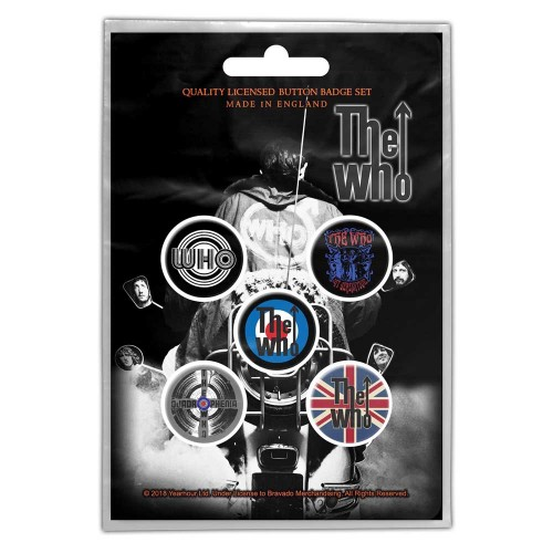Set Insigne The Who Quadrophenia