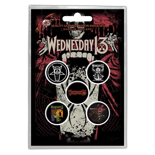 Set Insigne Wednesday 13 Condolences