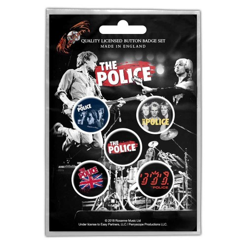 Set Insigne The Police Various