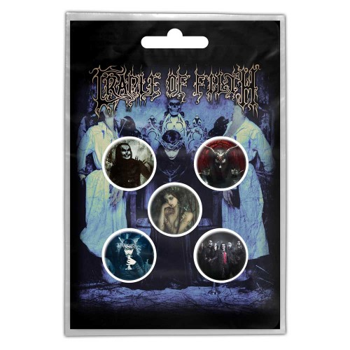 Set Insigne Cradle Of Filth Cryptoriana