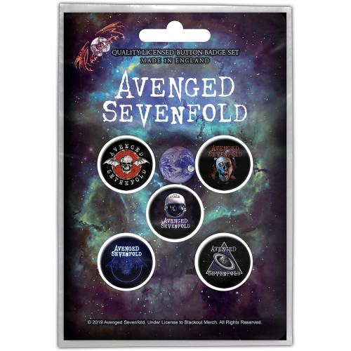 Set Insigne Avenged Sevenfold The Stage