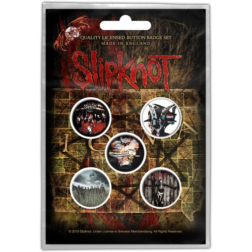 Set Insigne Slipknot Albums