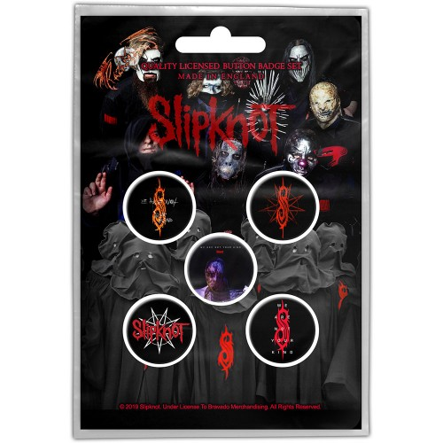 Set Insigne Slipknot We Are Not Your Kind