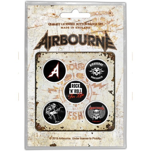 Set Insigne Airbourne Boneshaker