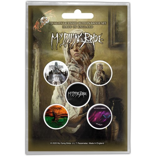 Set Insigne My Dying Bride The Ghost of Orion