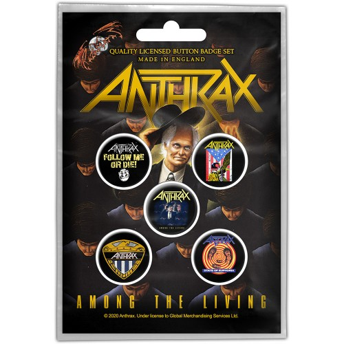 Set Insigne Anthrax Among the Living
