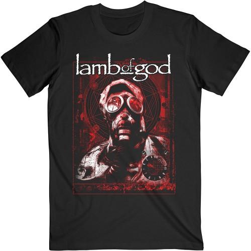 Tricou Lamb Of God Gas Masks Waves