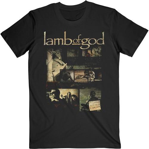 Tricou Lamb Of God Album Collage