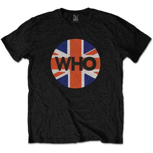 Tricou The Who Union Jack Circle