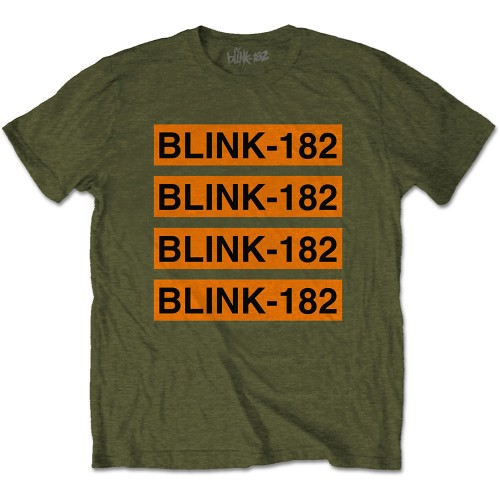 Tricou Blink-182 Log Repeat
