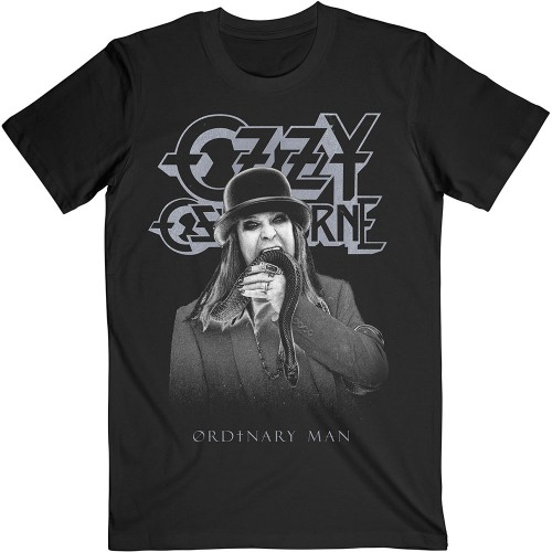 Tricou Ozzy Osbourne Ordinary Man Snake Ryograph