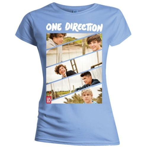 Tricou Copil One Direction Band Sliced