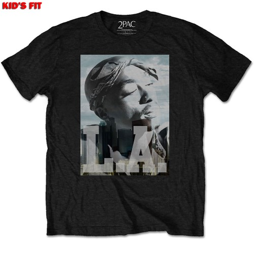 Tricou Copil Tupac LA Skyline