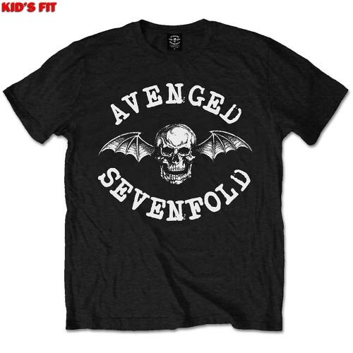 Tricou Copil Avenged Sevenfold Classic Deathbat