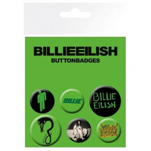 Set insigne Billie Eilish Mix