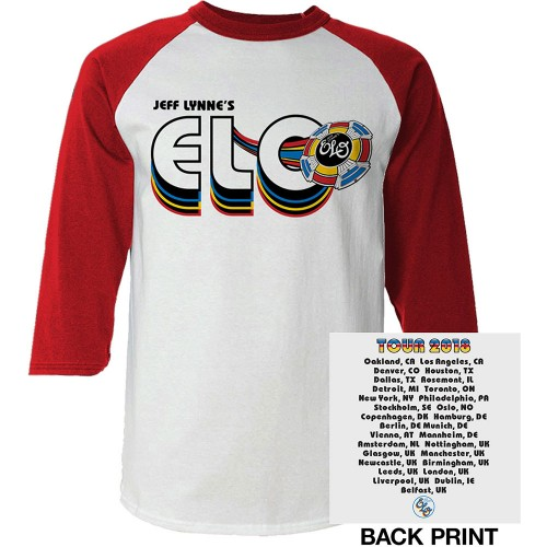 Tricou Mânecă Lungă ELO 2018 Tour Logo