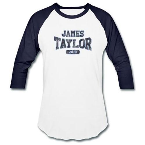 Tricou Mânecă Lungă James Taylor 2018 Tour Logo