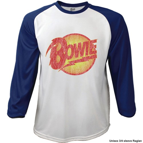 Tricou Mânecă 3/4 David Bowie Smoking