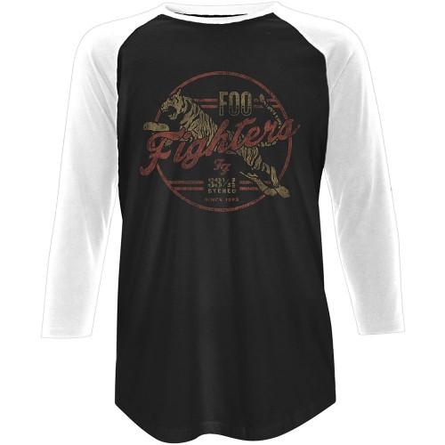 Tricou Mânecă 3/4 Foo Fighters Tiger