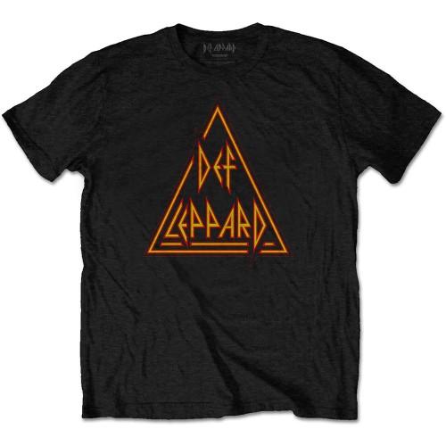 Tricou Def Leppard Classic Triangle